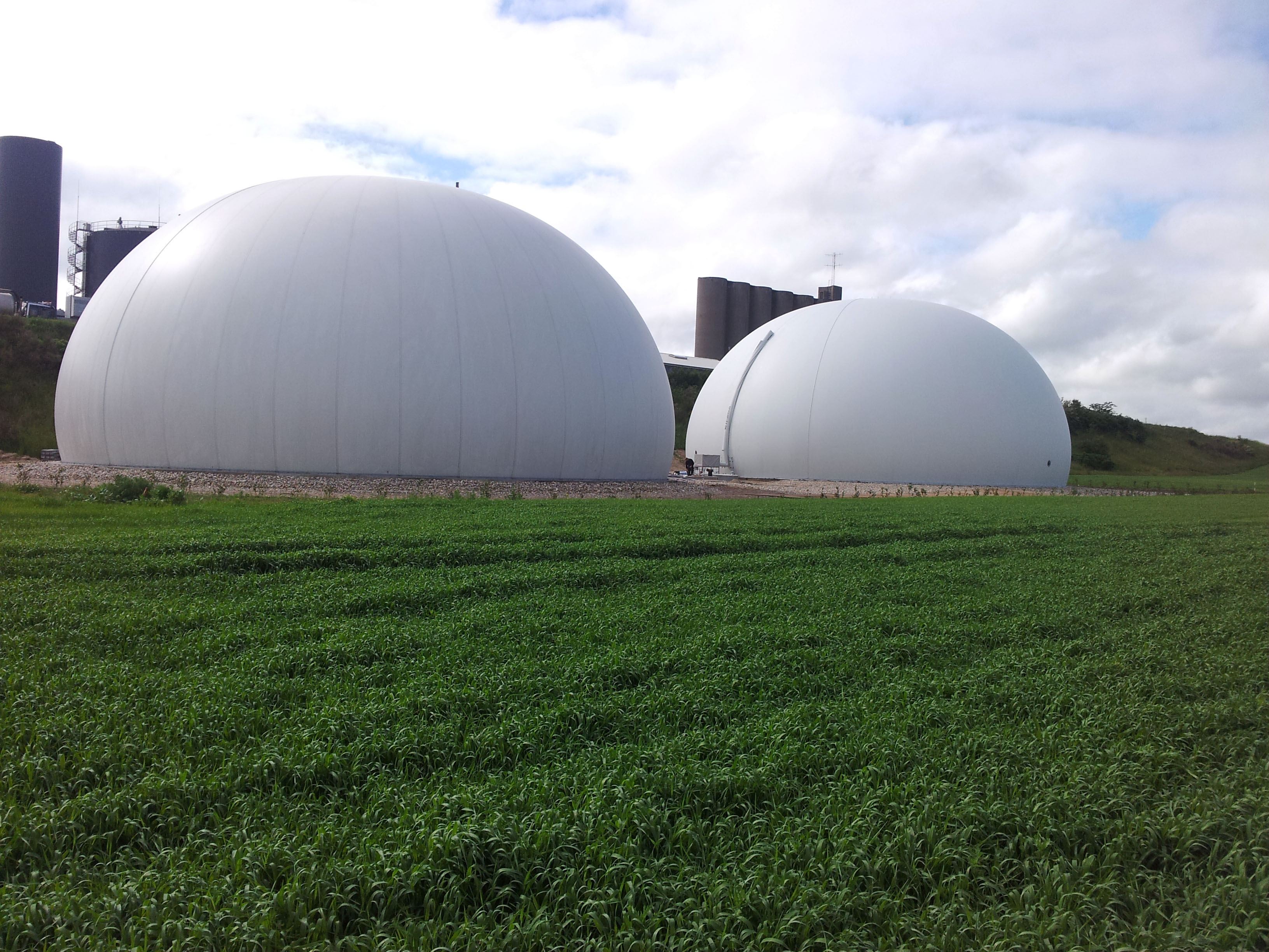 Biogas kupler i Lemvig