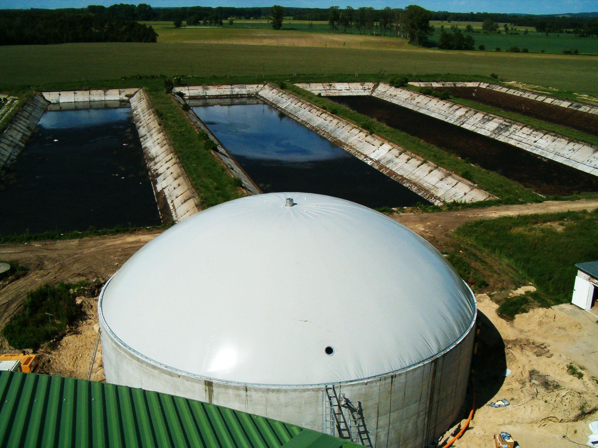 Berlin - Biogaslager