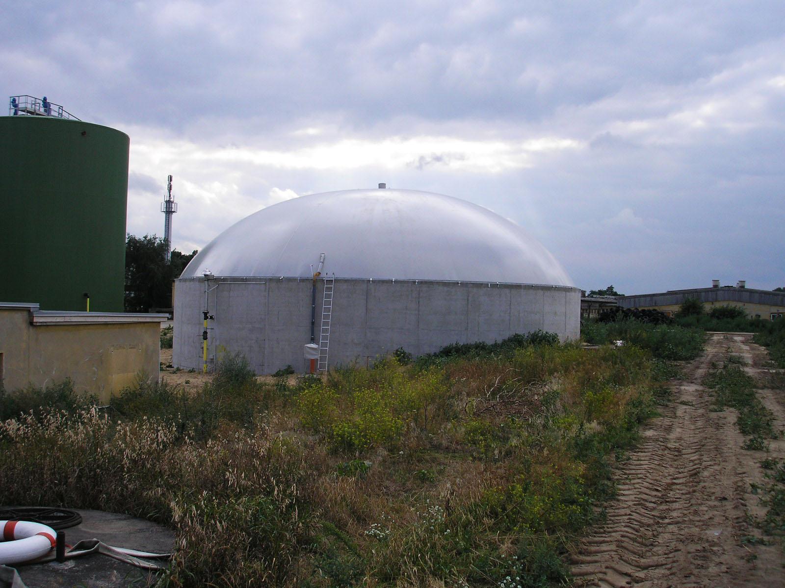 Biogaslager - Berlin