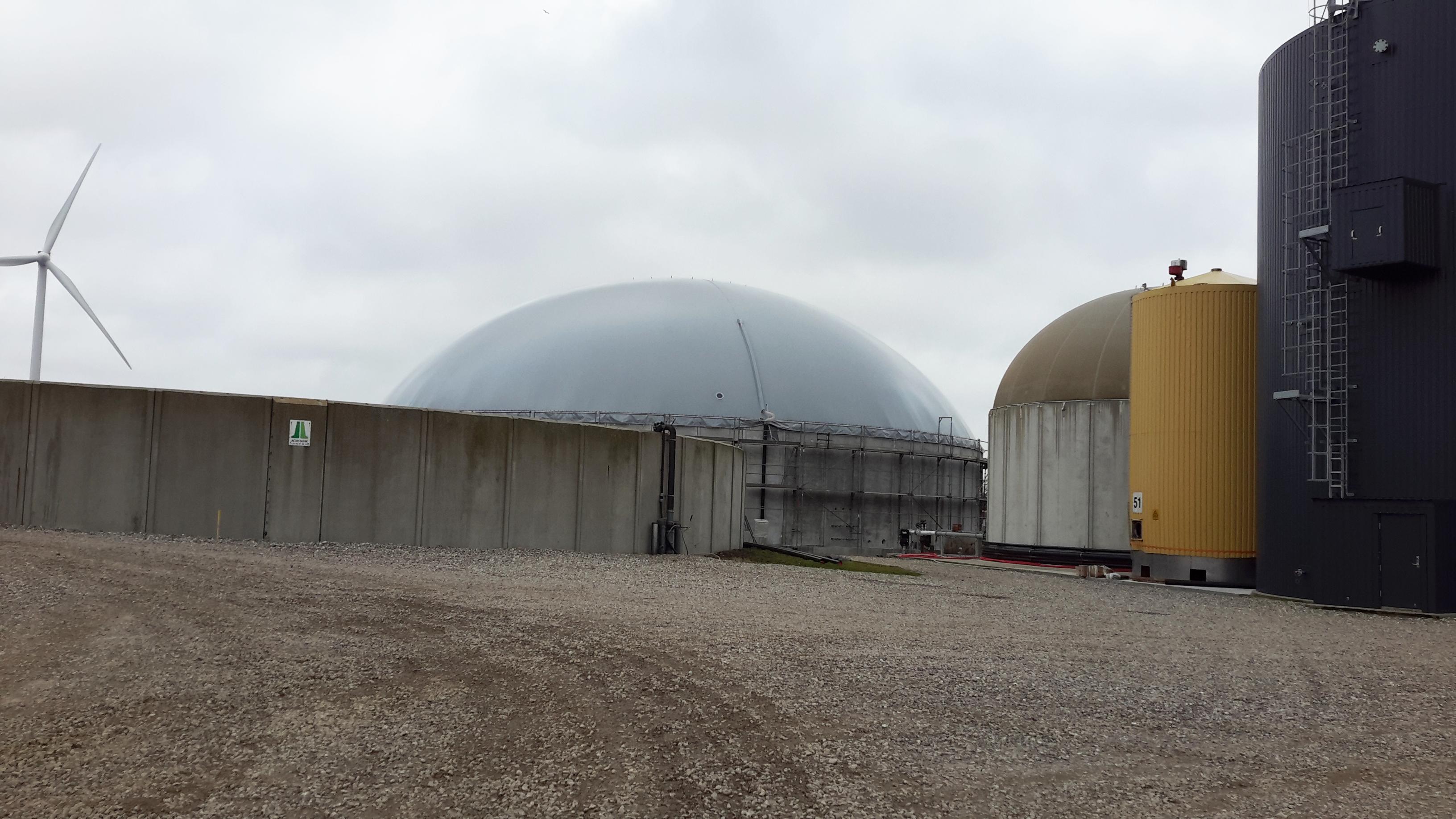 Biogaslager i Hemmet