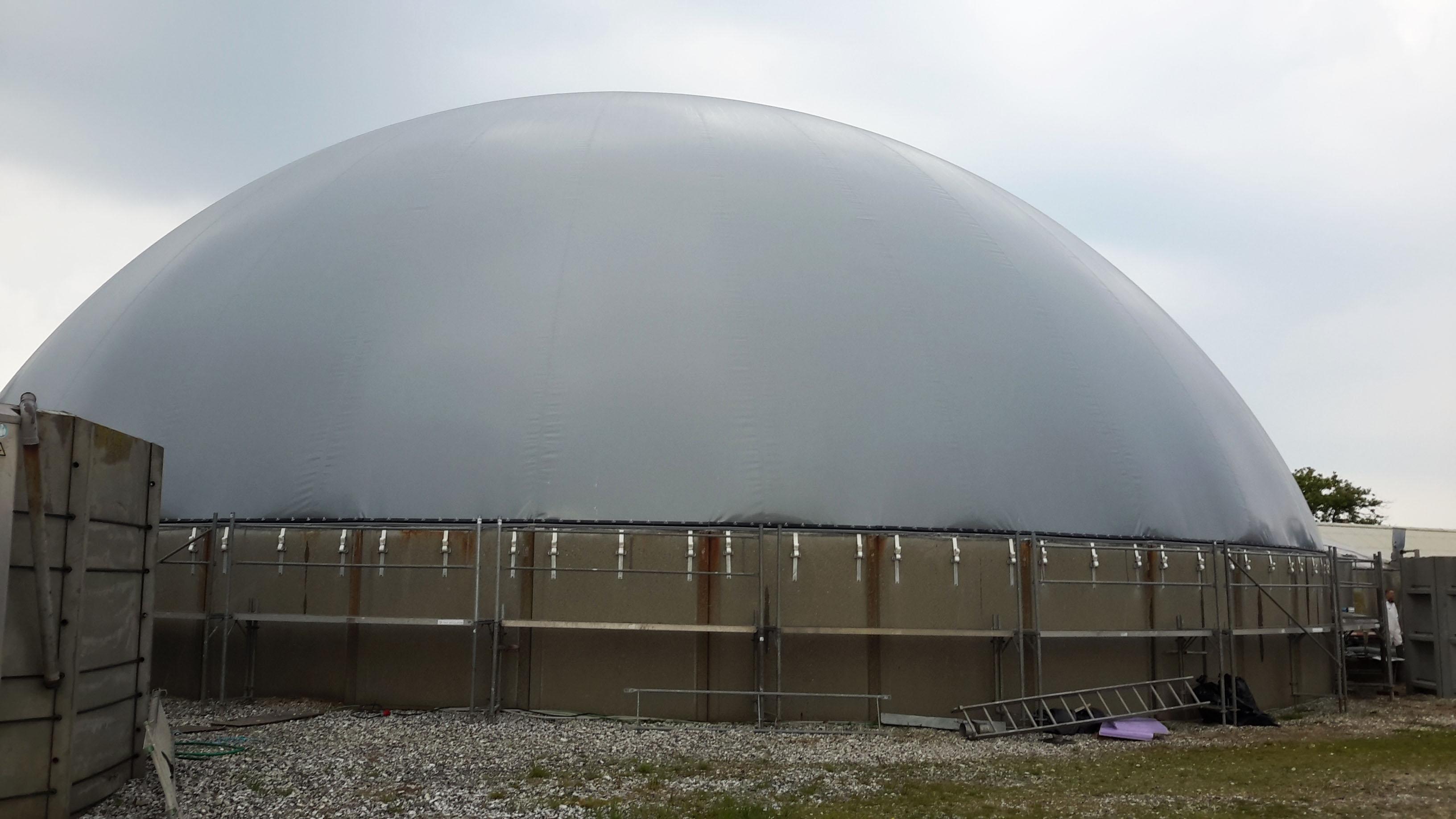 Biogaslager i Thisted