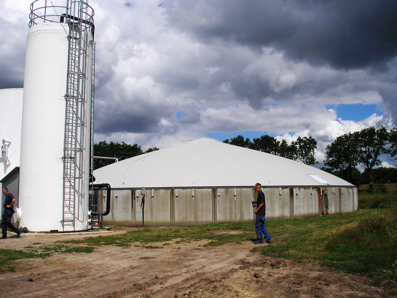 Biogasoverdækning - Blåhøj