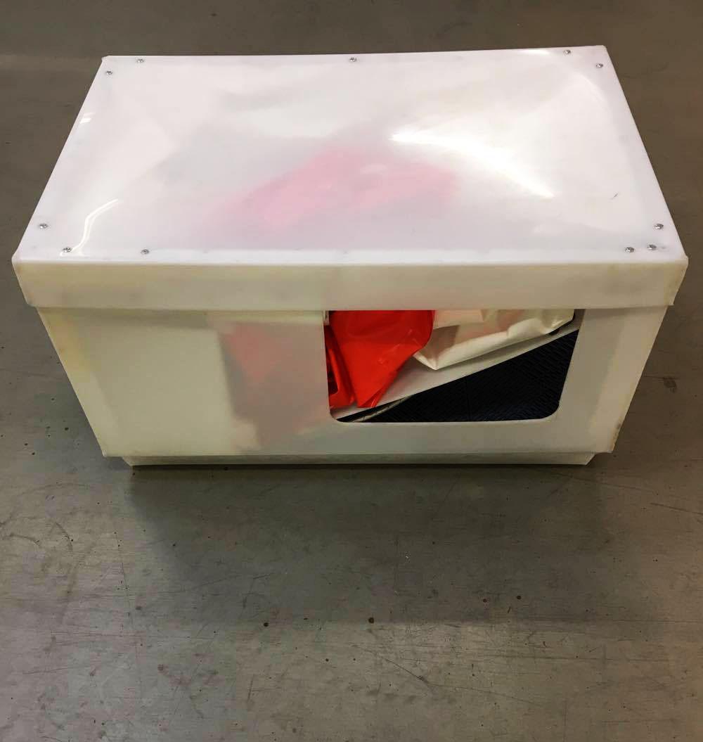 Kabine - kasse