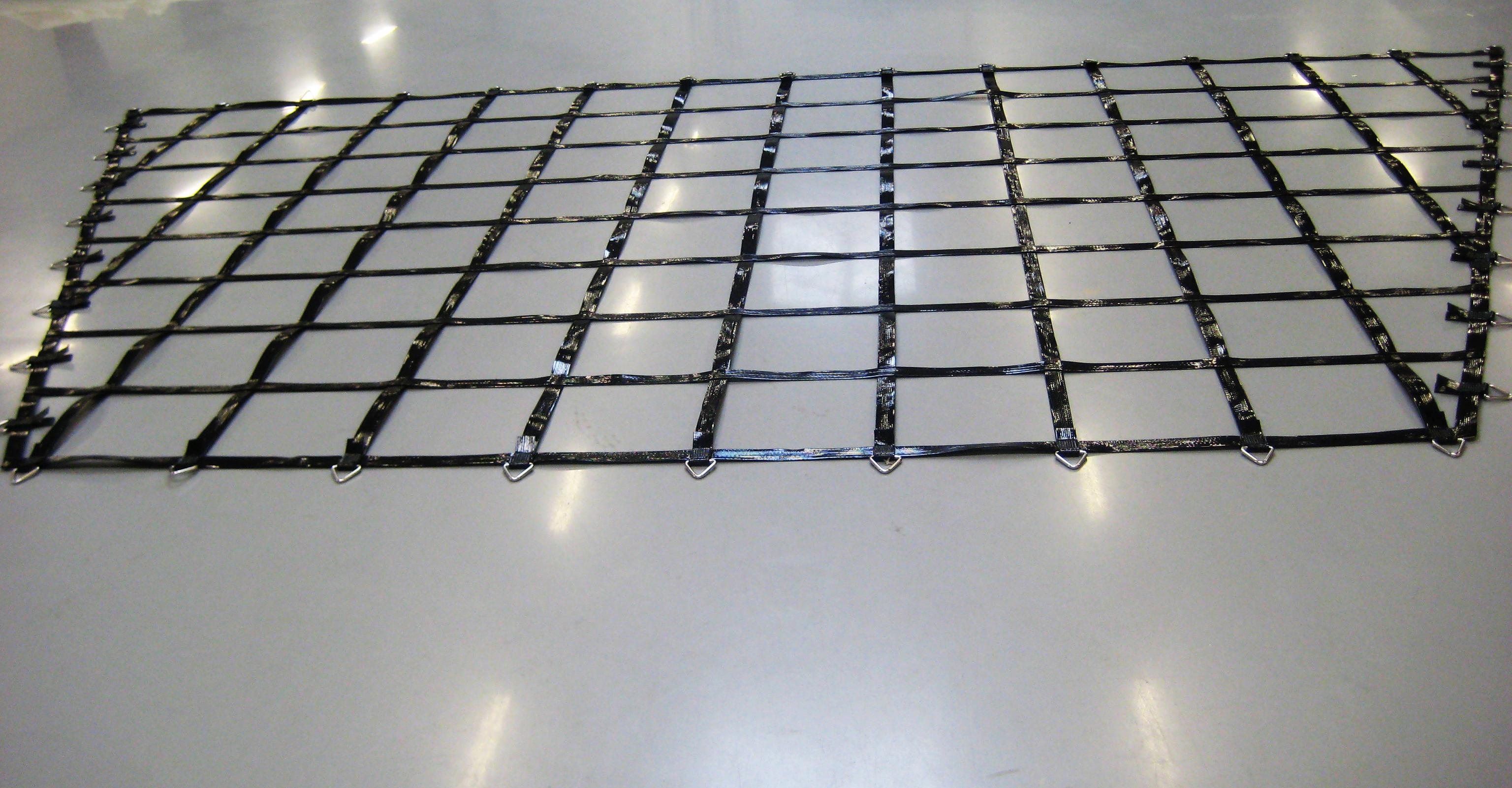 Kevlar net med større mellemrum