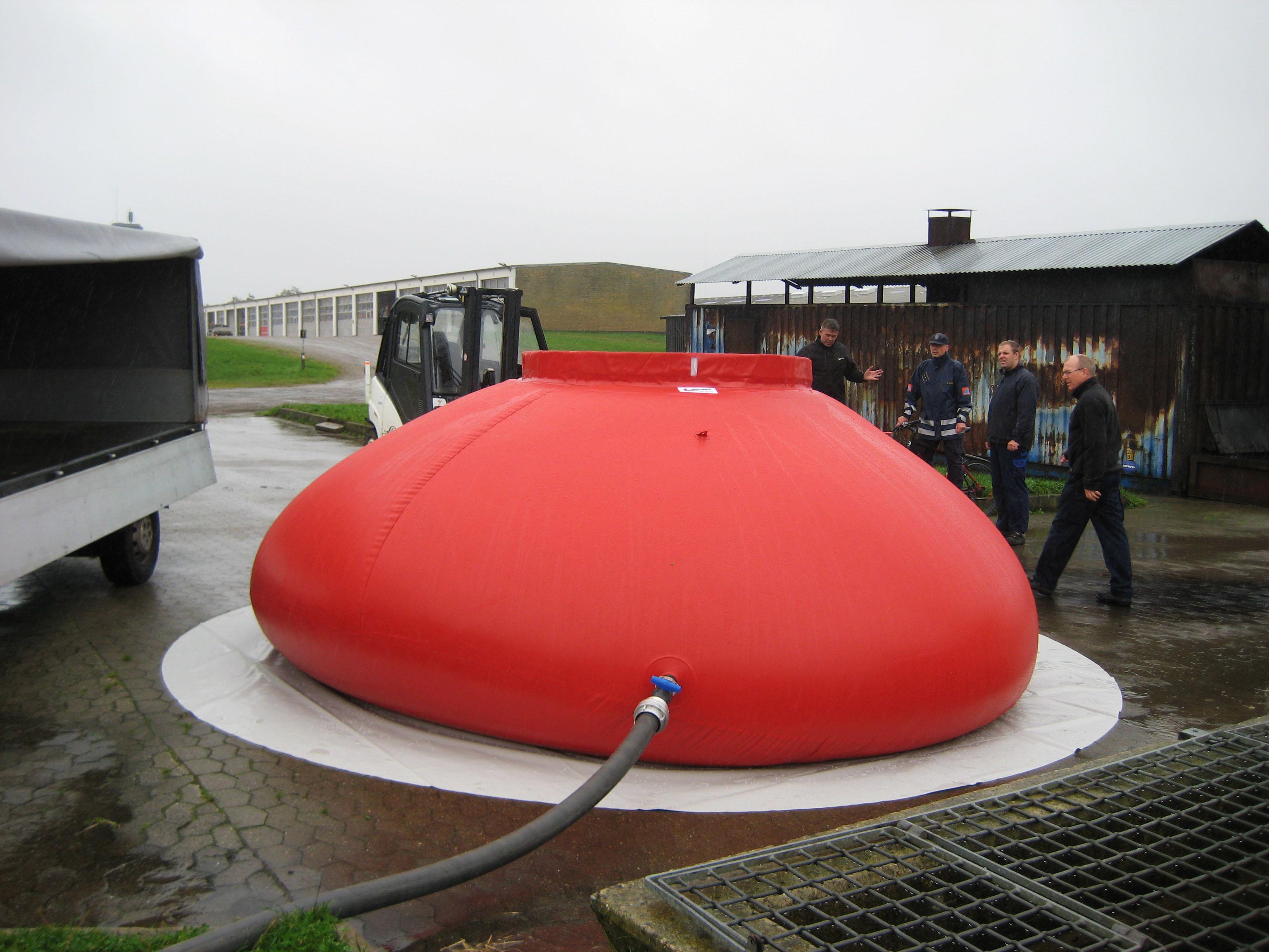 Selvrejsende kar af 15.000 liter