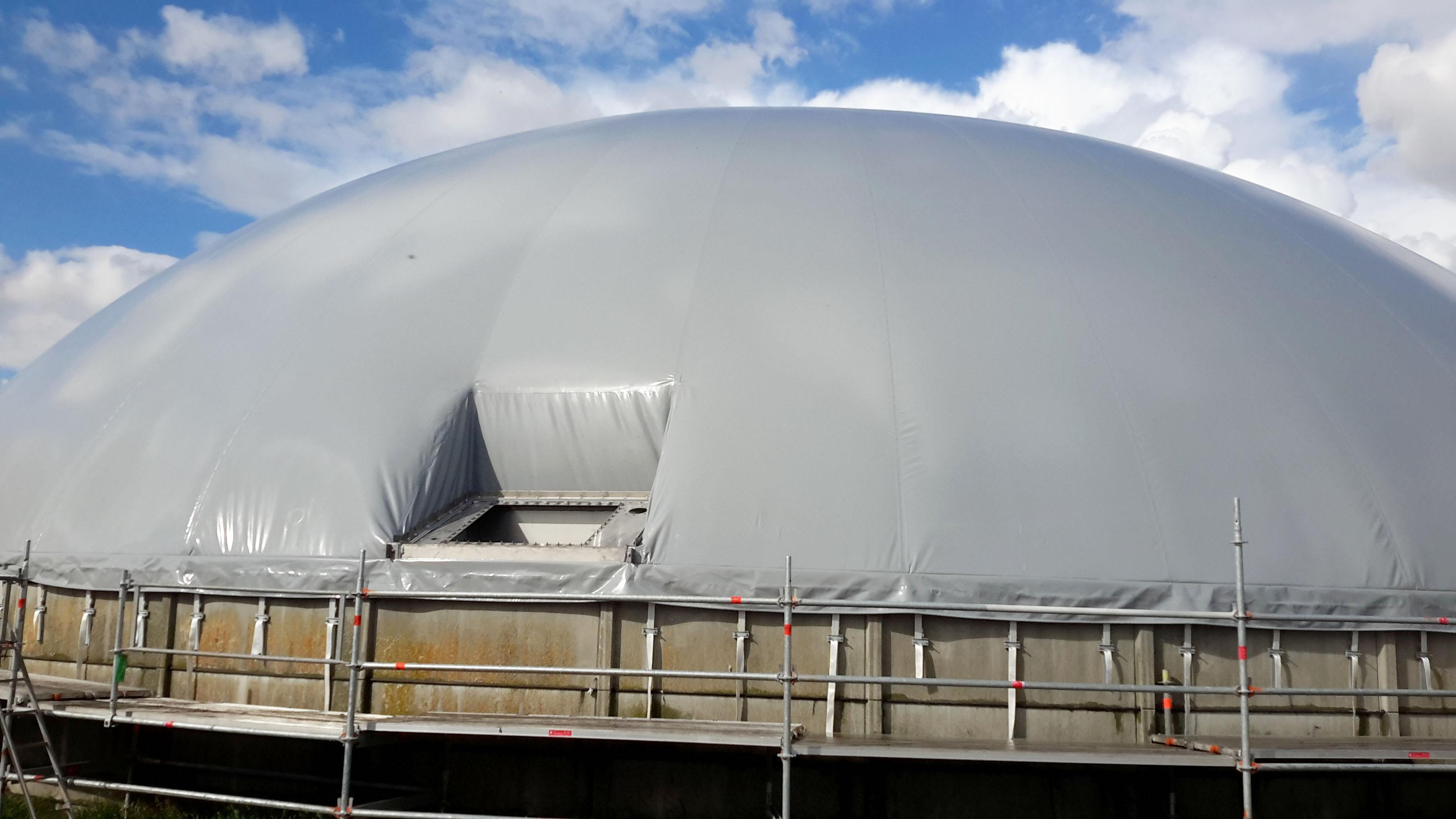 Ulsted biogaslager med skakt