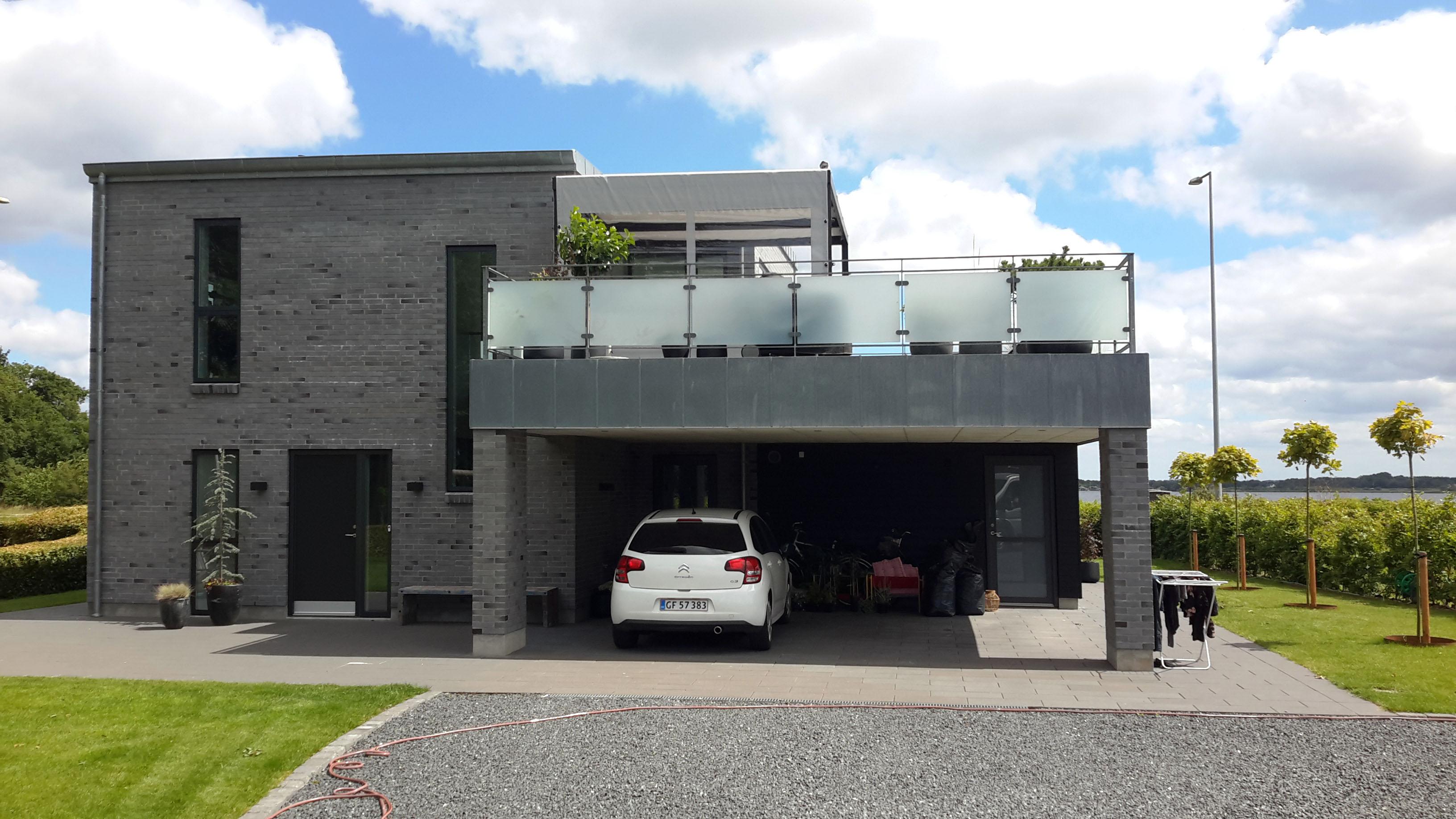 Terrasseoverdækning - huset