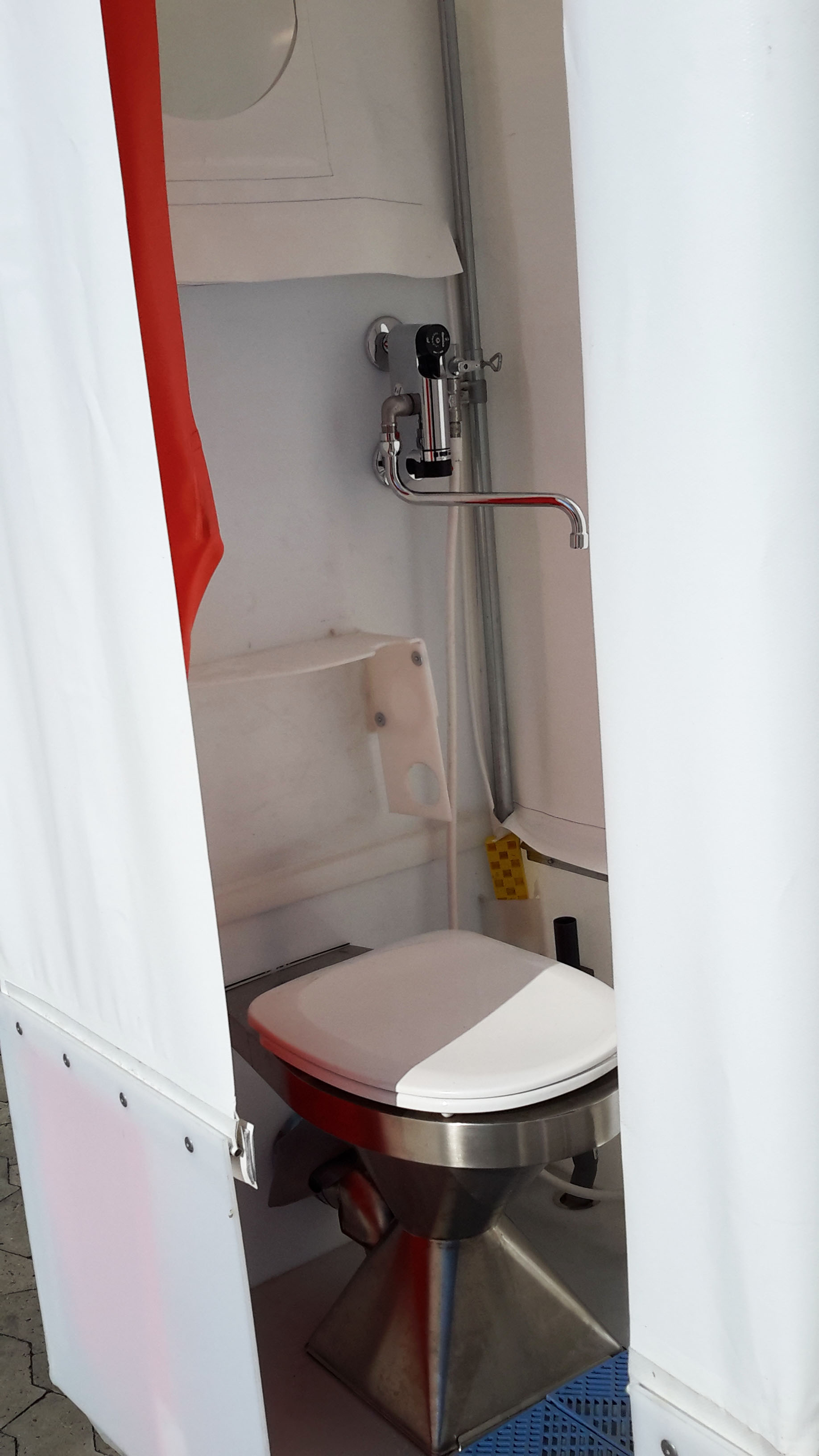 Toiletkabine - inde i