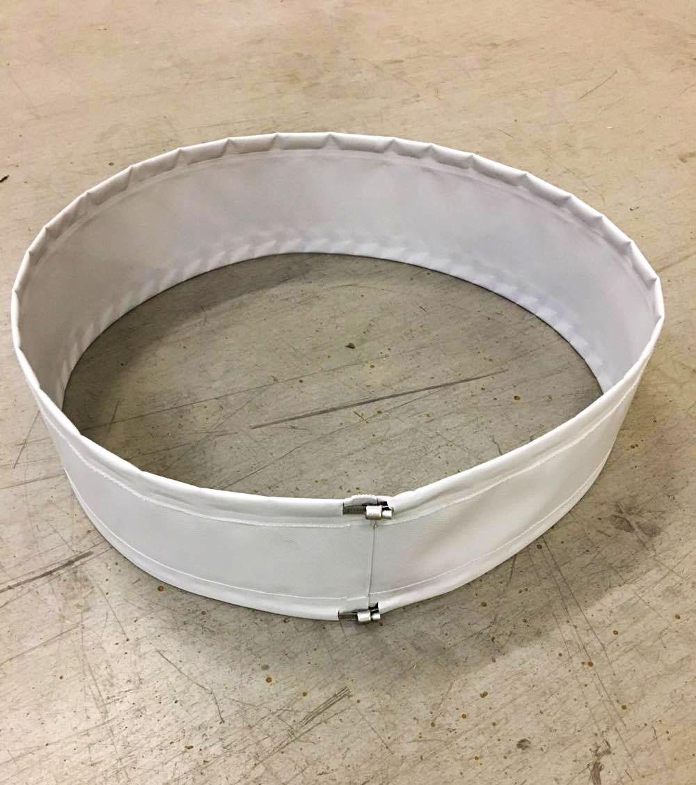 flexforbindelse med spændbånd